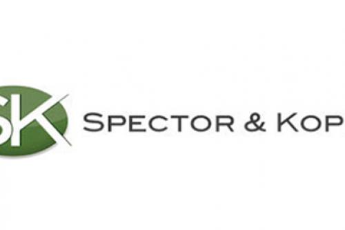 Case Study: Professional Services/Legal Spector & Kopec Logo