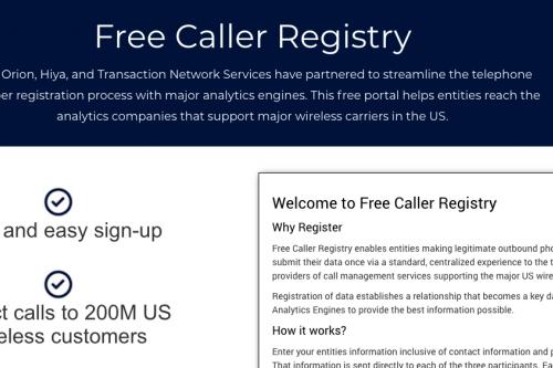 Online Tutorial: Spam Removal Registry