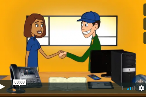Animated Video: How IP Phones and Cloud Technology work