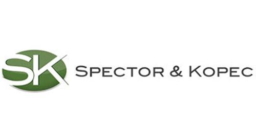 Case study: Professional Services Industry/Legal Spector & Kopec, LLC Logo